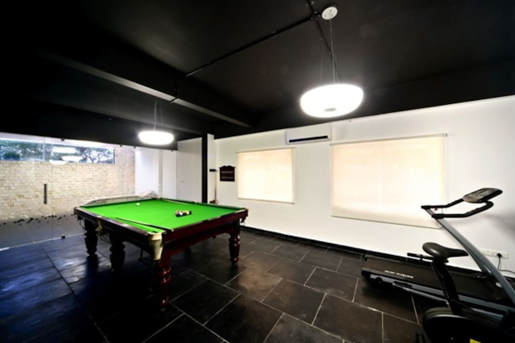 Fitness and Inhouse play room