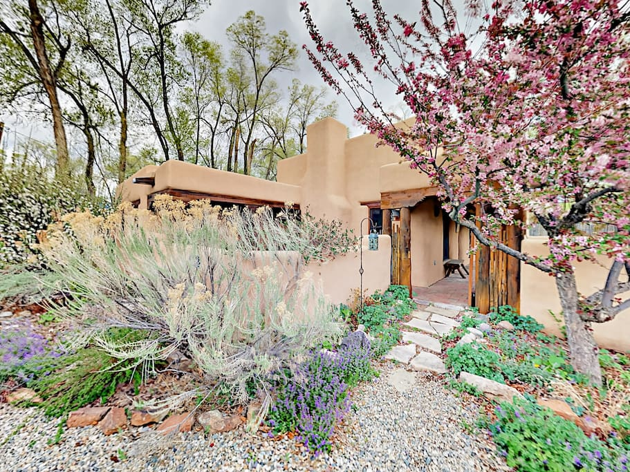This lovely Taos adobe retreat is professionally managed and maintained by TurnKey Vacation Rentals.