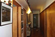 Corridor to bedrooms.