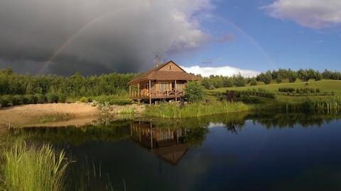 Casa de vacaciones con sauna