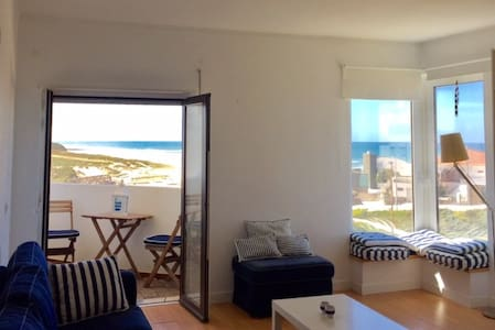Beach apartment with the best views of the ocean - Lourinhã - 公寓