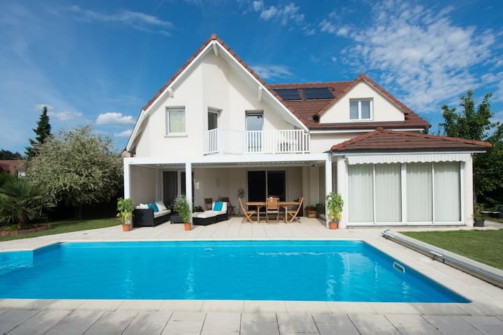 Modern French house - 4km to Basel