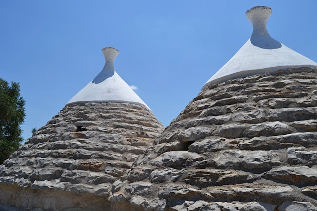Trullo cones (total of 4)