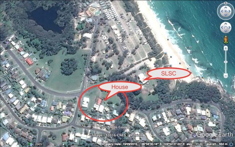 Chucklers - Pambula Beach - Rumah