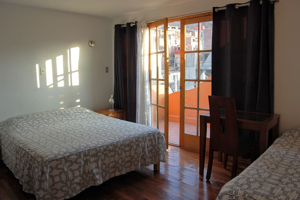 Room 2 with private balcony