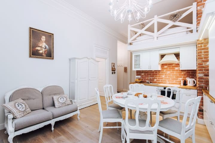 Apartment with balcony / Old town