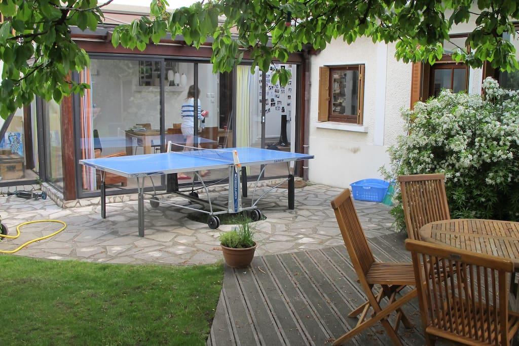 Charmante maison jardin maisons louer maisons - Location maison jardin ile de france colombes ...