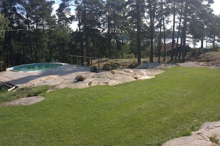 Sommarboende i Åkersberga/Roslagen - Åkersberga - Cabaña