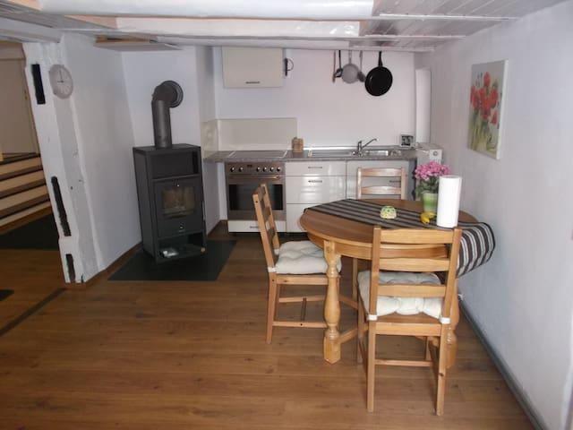 Wohnen im Fachwerkhaus - Nieheim - Apartment