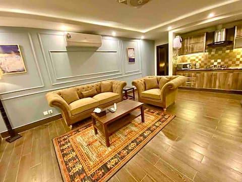 Chic Suites - Gyönyörű egy hálószobás apartman.