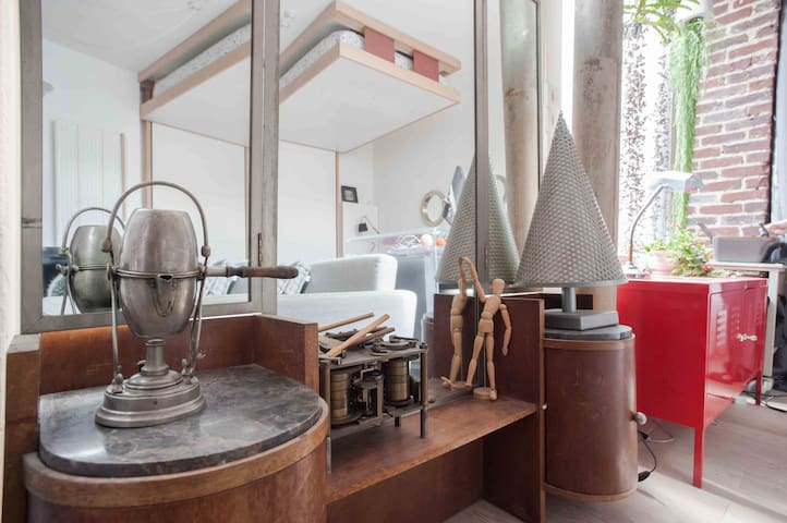 Studio atypique aux portes de Paris - Les Lilas