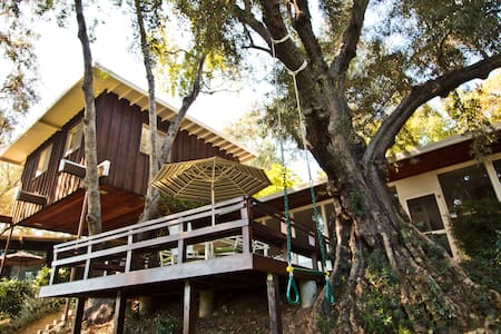private Space/Treehouse in home. - South Pasadena - Puumaja