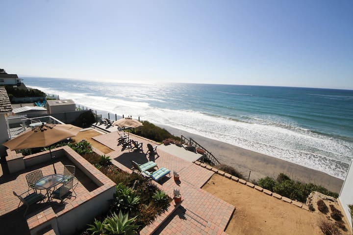 Best Value! Oceanfront Beach House - Encinitas - Hus
