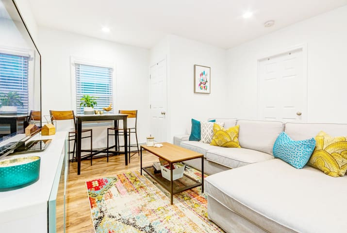 NEW - Two Bedroom || 2.5 Blocks To The Beach