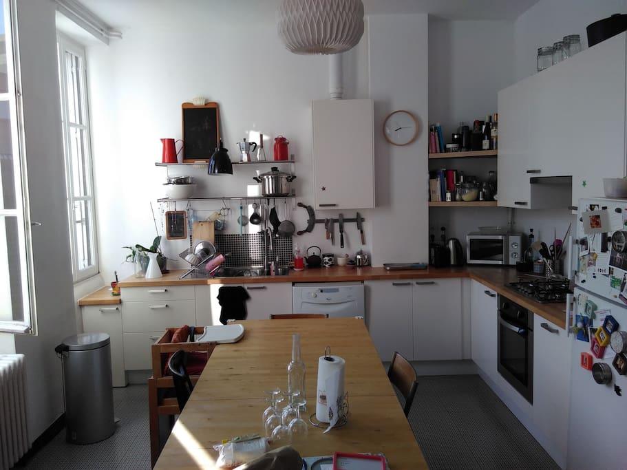 La cuisine - The kitchen