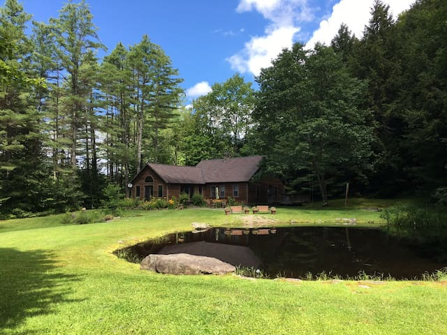 Large, peaceful VT home minutes from everything!