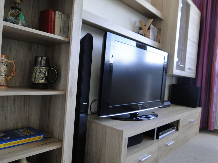 TV and HI-FI in the living-room