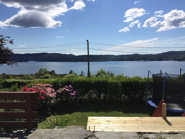 Seaview, 20 minutes from city centre. Cycling CS - Bergen - Casa