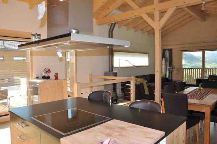 Entire family chalet in Vollèges, 3BDR, sleeps 6-7