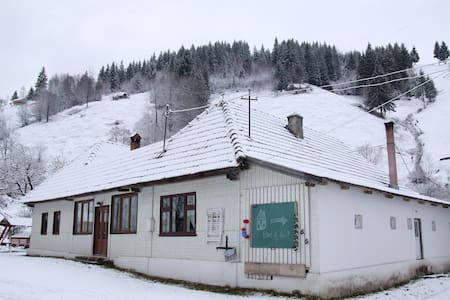 Maison traditionnelle roumaine - Moieciu de Sus - Дом