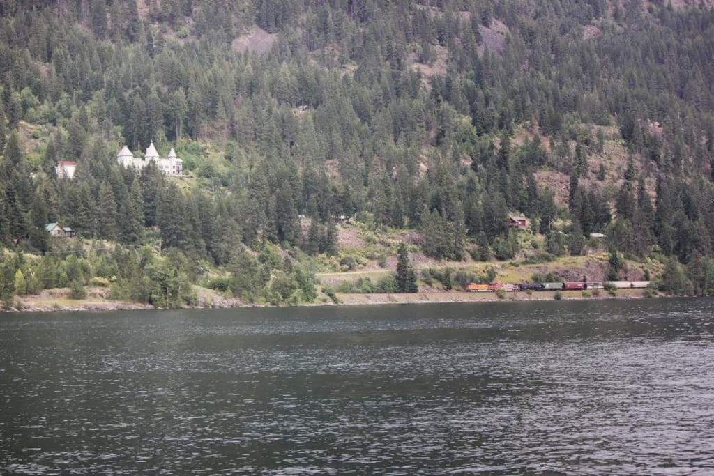 The Idaho Castle In Hope, Idaho