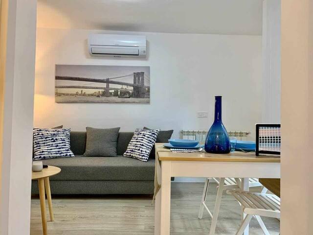 Apartamento Gremios - Nuevo, funcional, A/A, Wifi