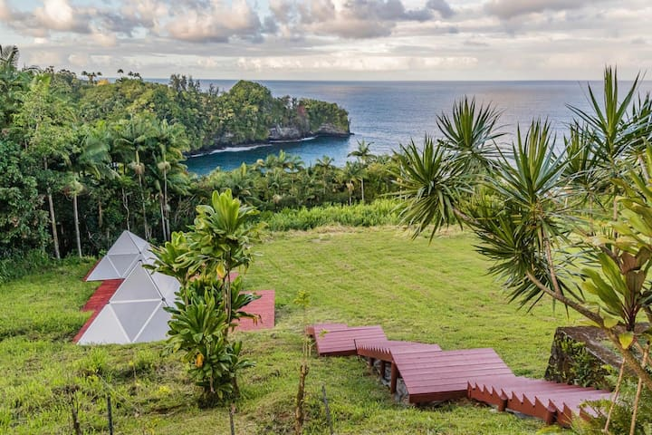 Breakfast and Yoga Included   Glamping Pyramid