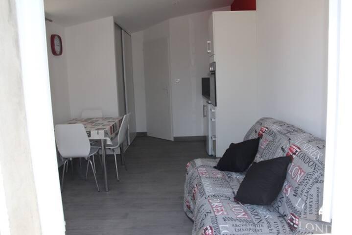 3 - Studio côté jardin 2 Personnes - Aytré - Casa