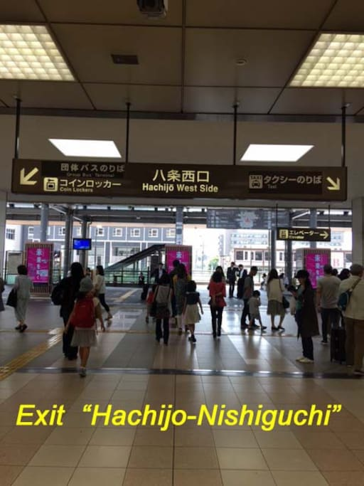 Kyoto station Hachijo-West Gate