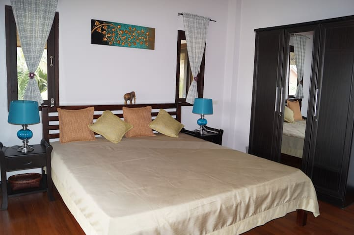 Villa Sally with sea view - close to the beach - Ko Samui - Huis