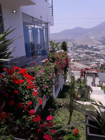 Villa moderne avec vue et climat spectaculaires