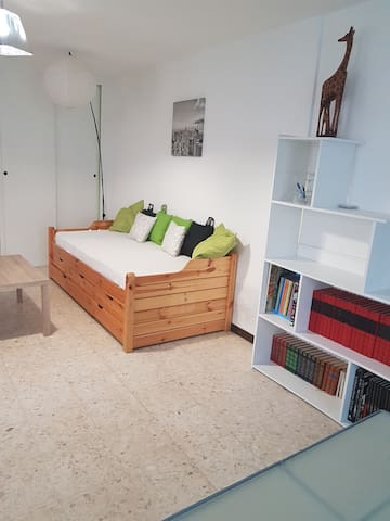 Agréable et spacieux appartement