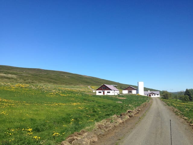 Fremstafell, North Iceland ap.nr. 1 - Ljósavatnshreppur - Apartamento