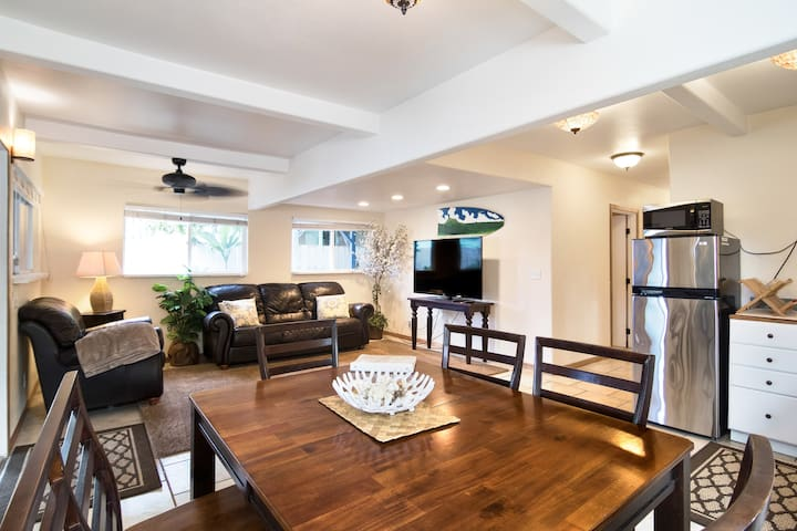 2 Bed Apt by North Shore Beaches w/AC - Private - Hauula - Σπίτι