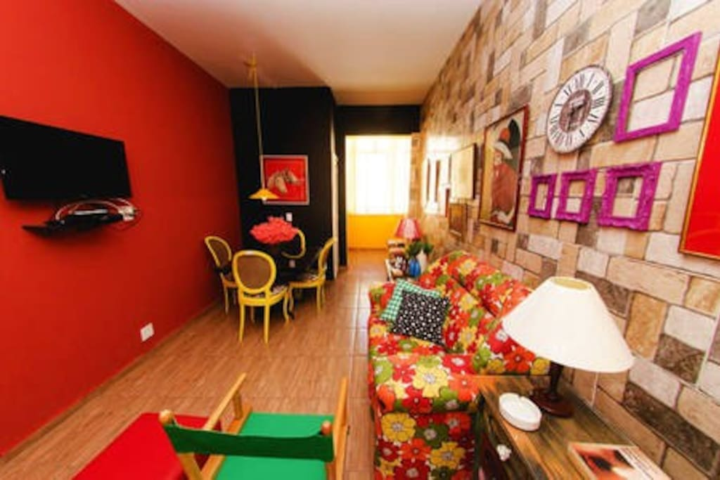 Sala de TV e Jantar