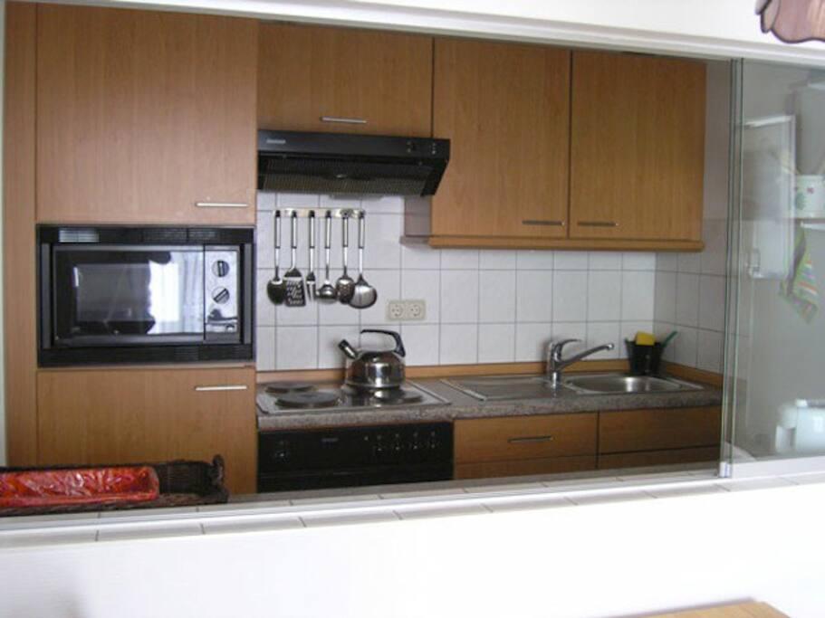 Küche - Haus Stranddüne