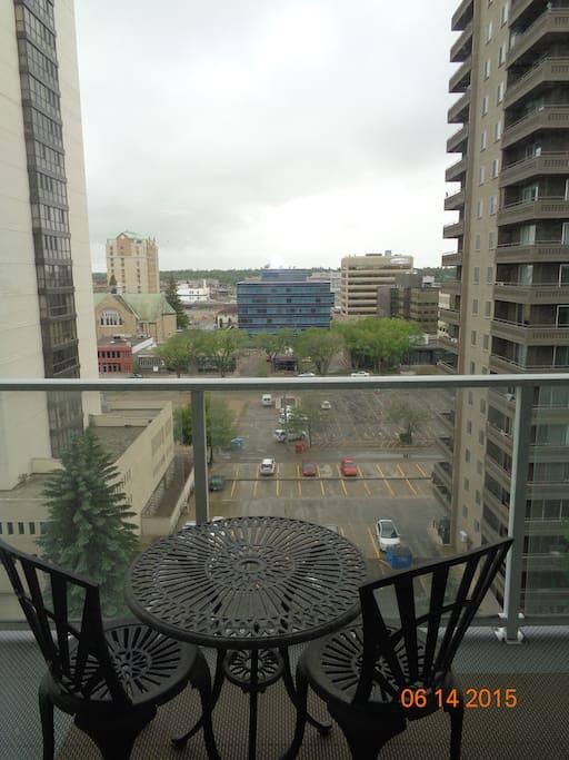City Balcony View