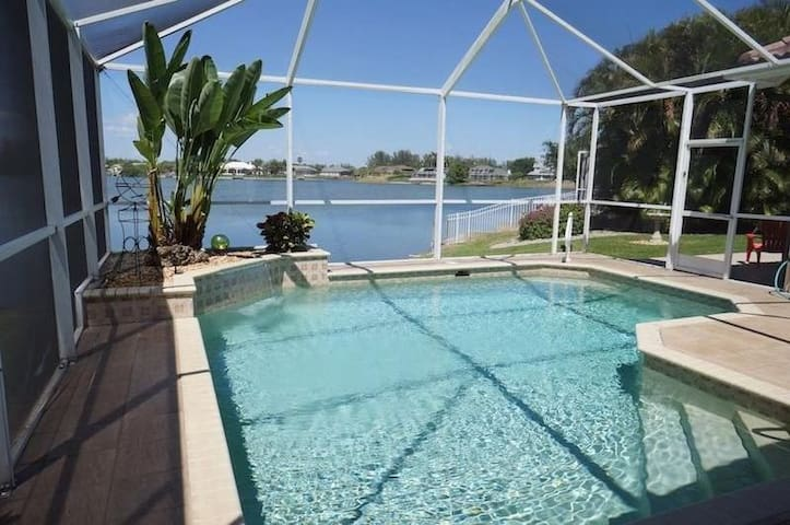 Villa Lake View 3/3 Pool & spa - Cape Coral - Villa