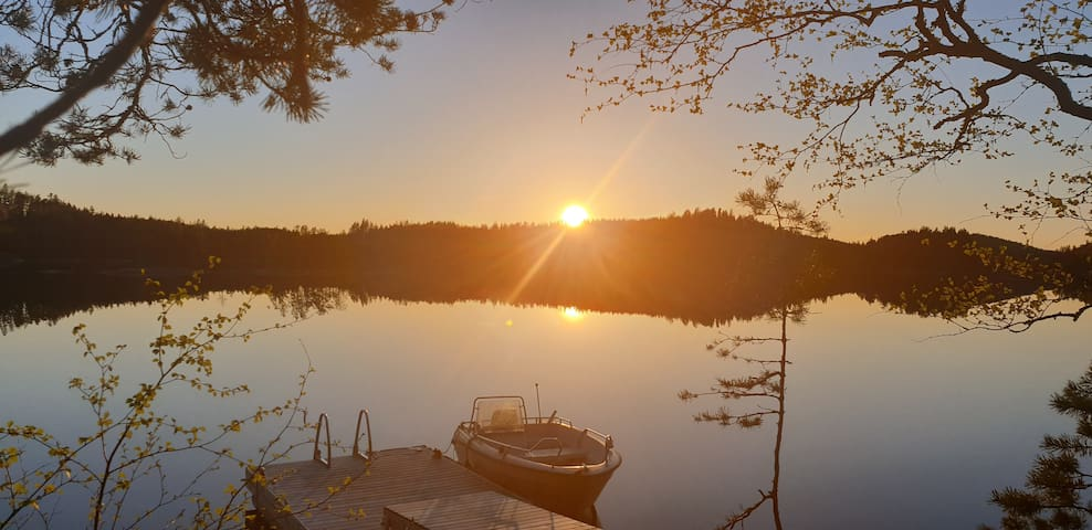 Saimaa Sunset Cottage, FREE Wi-Fi