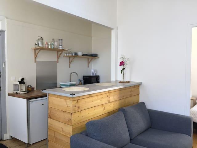 Appartement cosy, hyper centre ville