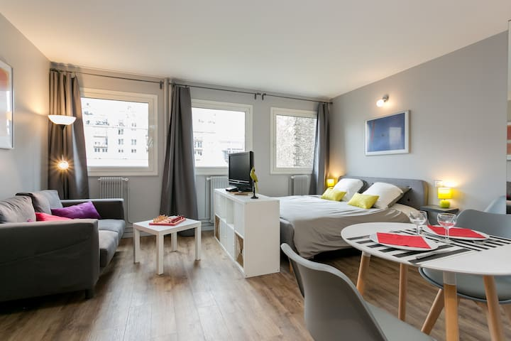 Fancy and cozy studio - Eiffel Tower neighborhood - Paris - Apartamento