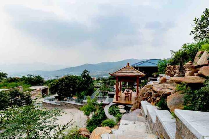 泰安彩石溪西马套村——东坡山庄(别墅)