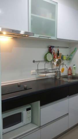 Equipped utensils & Seasoning