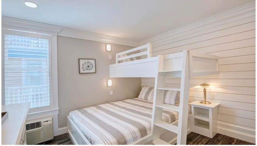 double and twin bunk in second bedroom
