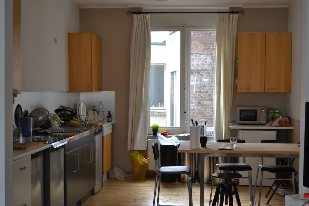 Shared Kitchen with other tenants