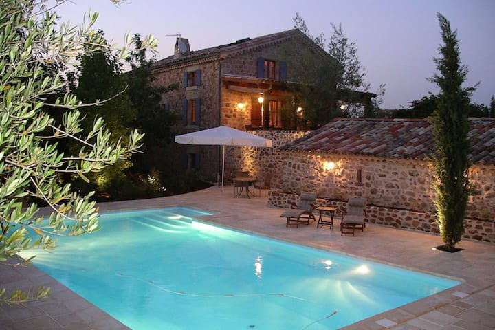 Inviting Holiday Home in Rosières with Swimming Pool