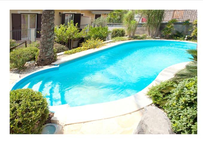 Villa con piscina - Chianchitta-trappitello - Villa