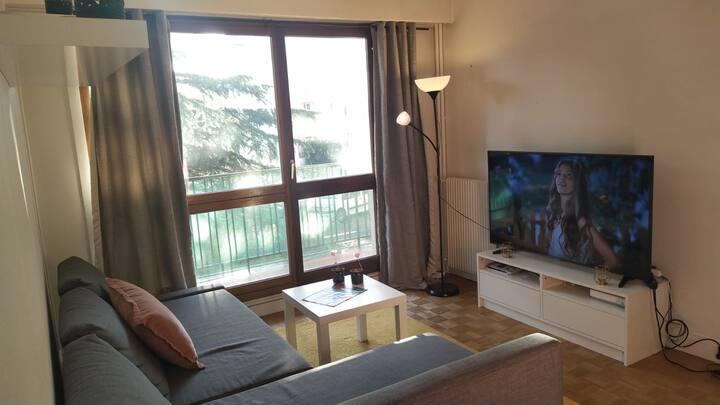 Charmant appartement avec balcon + parking