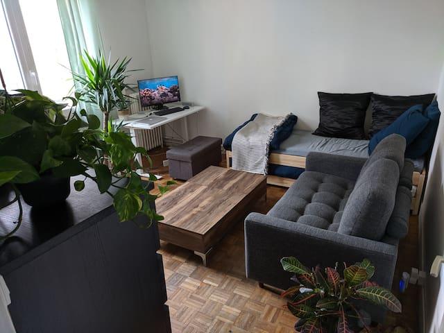 Studio apartment just behind citéU