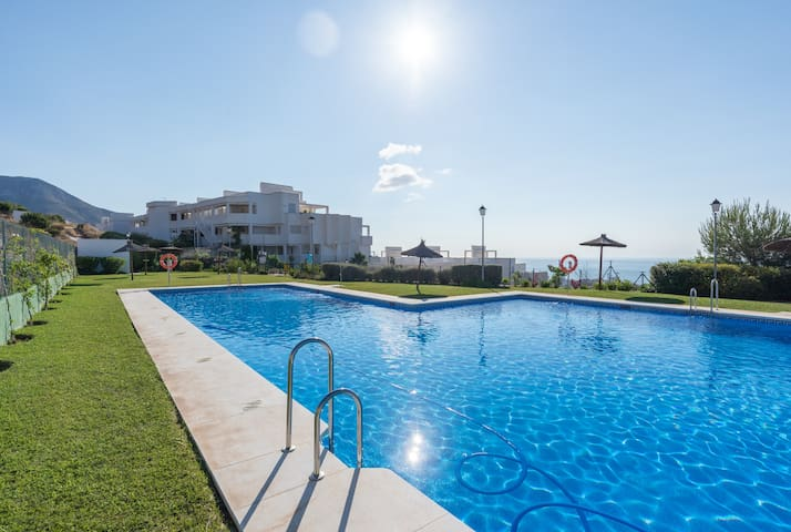 Stunning Seaview Appartment in Benalmadena